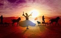 ÇıLDıR GÖLÜ - Çıldır Gölünde Atlı Kızaklar Eşliğinde 'Sema' Gösterisi