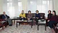 ATATÜRK - Eğitim-Bir-Sen Kadın Kollarından Rektör Çomaklı'ya Ziyaret