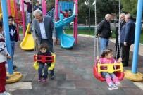 HÜSEYIN ÇALıŞKAN - Haliliye'de Parklar Daha Güvenli Hale Getiriliyor