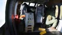 TRAFİK DENETİMİ - Kural İhlali Yapan Sürücüler Helikopterle Tespit Edildi