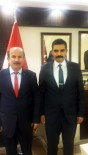 BELEDİYE MECLİS ÜYESİ - MHP'li Özel, Başkan Ateş'i Ziyaret Etti