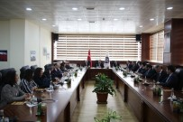 Rektörler,  'Yeni Nesil Üniversite Kavramı Ve Üniversitelerde Dijital Dönüşüm Projesi' Kapsamında Toplandı