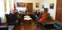 Türk Kızılay Edremit Şubesi'nden Kaymakam Sırmalı'ya Ziyaret