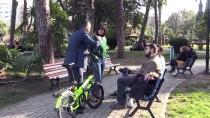 Adana'nın Bisikletli Bağımsız Büyükşehir Belediye Başkan Adayı