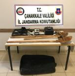İL JANDARMA KOMUTANLIĞI - Çanakkale'de Kaçak Kazı Operasyonu