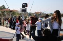 DENİZ CANLILARI - Çocuklar EXPO'da Balık Tutmanın Keyfini Yaşadı