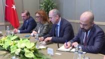 CUMHURBAŞKANLIĞI KÜLLİYESİ - Cumhurbaşkanı Yardımcısı Oktay'ın Kabulü
