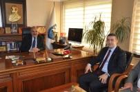 KALİFİYE ELEMAN - Dinçer, Mersin'e İşletmeler Üstü Eğitim Merkezi Kurulmasını İstedi