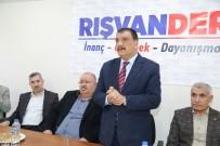 SELAHATTIN GÜRKAN - Gürkan, Rışvan-Der'i Ziyaret Etti