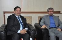 İSLAM - İran İslam Cumhuriyeti Erzurum Başkonsolosu Dr. Sajad Soltanzadeh, Başkan Oral'ı Ziyaret Etti
