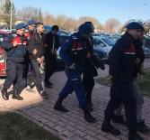 İL JANDARMA KOMUTANLIĞI - Telefon Kablosu Hırsızlık Zanlısı 5 Kişi Yakalandı