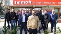 KAPALI ÇARŞI - TMMOB Üyeleri, Yazıcı'dan Trafik Ve Yapı Denetimi Sorunlarını Çözmesini İstedi