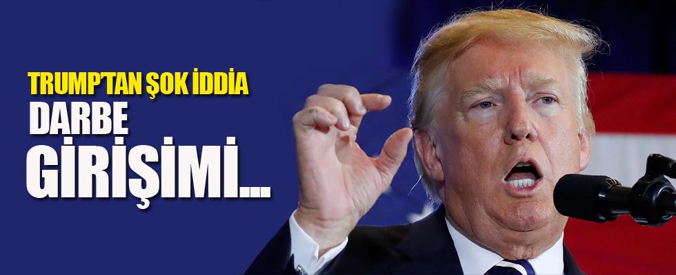 Trump'tan şok iddia: Darbe girişimi...