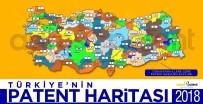 BENZERLIK - Türkiye'nin 2018 Yılı Patent Haritası
