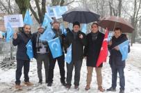 ÇIN HALK CUMHURIYETI - Doğu Türkistan Zulmü Brüksel'de Protesto Edildi