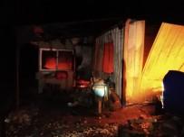 ÇAYAĞZı - Erdek'te Bağ Evinde Yangın Açıklaması 1 Yaralı