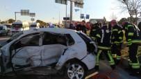 KIRMIZI IŞIK - Kırmızı Işıkta Geçen Minibüs, Polis Memurunun Ölümüne Neden Oldu