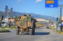 Sınıra askeri sevkiyat!