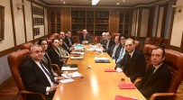 PETERSBURG - Türk Diplomatlar Moskova'da Bir Araya Geldi