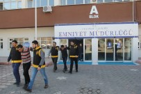 Aksaray'da Yabancı Uyruklu Hırsızlık Şüphelileri Yakalandı