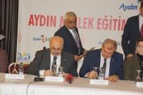 HALK EĞİTİM MERKEZİ - Aydın'da Meslek Eğitimine Katkı Protokolü İmzalandı