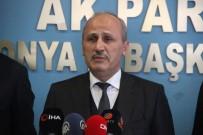 TOPLU TAŞIMA - Bakan Turhan'dan Konya'ya Metro Açıklaması