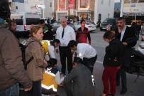 ATATÜRK BULVARI - Başkan Adayı Seçim Çalışmalarını Bırakıp Yaralının Yardımına Koştu