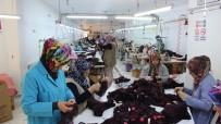 GÖNENLI - Bu Fabrikada Çalışan Herkes Kadın