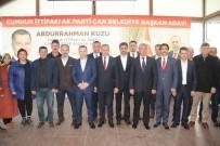 Çan'da Cumhur İttifakı'nın Adayı Abdurrahman Kuzu