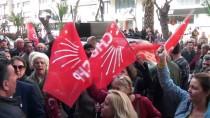 TUNCAY ÖZKAN - CHP İzmir İl Başkanlığı Önünde Protesto