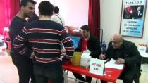 TÜRK KıZıLAYı - Gaziantep'te Veli Ve Öğretmenlerden Kan Bağışı