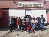 Köy Okulu Öğrencilerinden Tekstil Fabrikasına Ziyaret