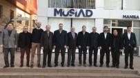 EĞİTİM DERNEĞİ - MASİDAP'tan MÜSİAD Başkanı Ürper'e 'Hayırlı Olsun' Ziyareti