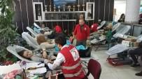 TÜRK KıZıLAYı - Okulda Ödüllü Kan Bağışı Kampanyası