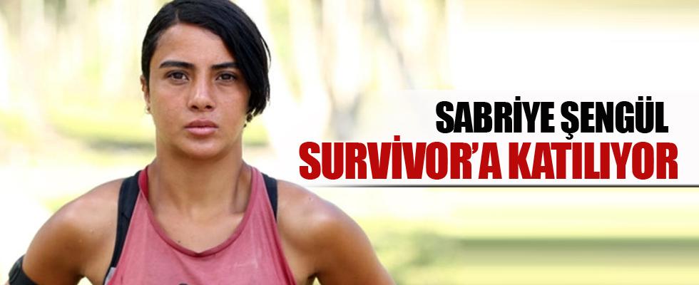 Sabriye Şengül Survivor'a katılıyor