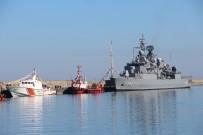 Trabzon'da Kurulan Deniz Üssünün İlk Askeri Gemisi Demirledi