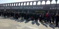 Uçaklar Yenişehir'e Mecburî İniş Yaptı
