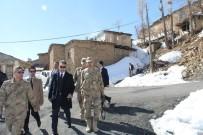 Vali Çağatay'dan Karakol Ve Okul Ziyaretleri