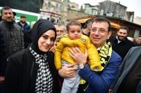 BAŞKAN ADAYI - AK Parti Standından İmamoğlu'na Lokum İkramı