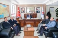 HAKKARI ÜNIVERSITESI - Başkan Er'den Rektör Pakiş'e Ziyaret