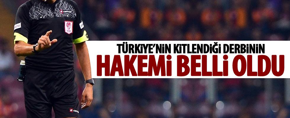 Beşiktaş-Fenerbahçe derbisine tecrübeli isim