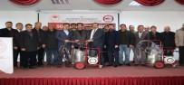 Elazığ'da Üreticilere Süt Sağma Makinesi Dağıtıldı