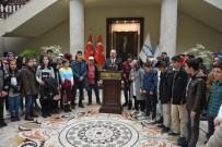 GÜNEYDOĞU ANADOLU - Erzurumlu Çocuklar Valiyi Ziyaret Etti