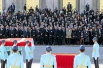 DEVLET BAHÇELİ - Eski Devlet Bakanı Ünlü İçin TBMM'de Tören Düzenlendi