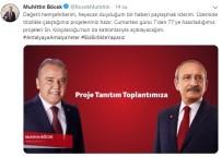 KEMAL KILIÇDAROĞLU - Kılıçdaroğlu Antalya'ya Geliyor