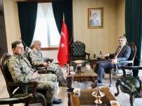 Korgeneral Erbaş,  Vali Ekinci'yi Ziyaret Etti