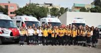 Mersin'e 4 Yeni Ambulans