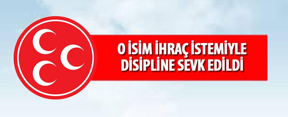 MHP: Yaşar Toksoy ihraç istemiyle disipline sevk edildi