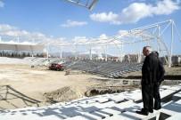 Mustafa Kemal Atatürk Güreş Alanı Ve Spor Kompleksi'nde Son Aşamaya Yaklaşıldı