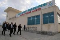 SOSYAL TESİS - Şanlıurfa'da Yeni Şampiyon Yüzücüler Yetiştirilecek